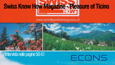 Swiss Know How Magazine – Pleasure of Ticino