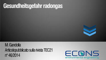 Gesundheitsgefahr radongas